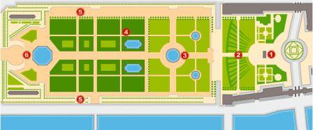 Le Jardin Des Tuileries Par Molly Vie Urbaine Une Comparaison